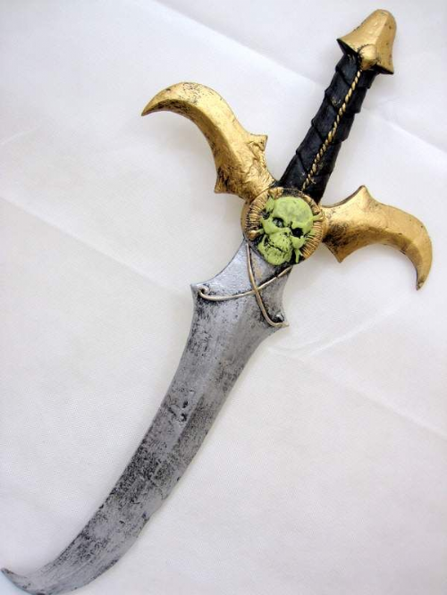 Foam Sword Cutlass Antique Look Toy Weapon